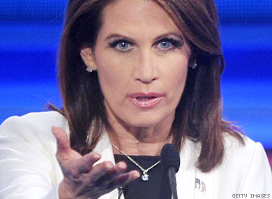Bachmann to Students: No Right to Same-Sex Marriage