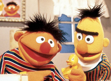 PBS Says Bert and Ernie Are Just Friends