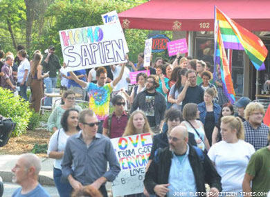 Asheville Mayor Signs On For Gay Pride