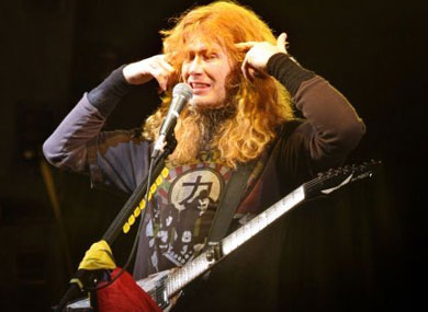 """Megadeth's Dave Mustaine Opposes Same-Sex Marriage Because He's """"Christian"""""""