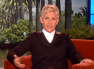 WATCH: Ellen Urges Viewers to Petition for Changing  Rating