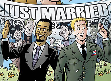 Gay Comic Sells Out