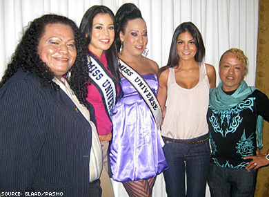 Miss Universe Shows Support For Trans Community