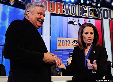 Michele and Marcus Bachmann Dispute Kinsey Report