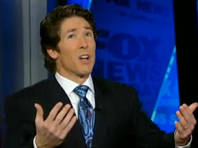 Osteen to Gays: You're Sinners, But I Don't Hate You