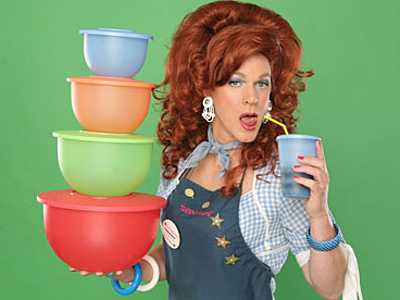 Drag Queen Dixie Longate is Wowing Audiences and Selling Tupperware