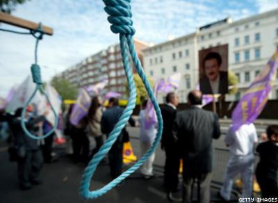 Four Gay Men to Be Hanged in Iran for Sodomy