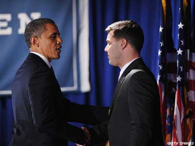 Obama Courts Gay, Latino Donors in New York City