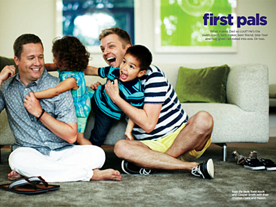 JC Penney Includes Gay Dads for Father's Day