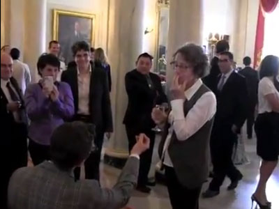 White House LGBT Pride Reception Ends With Marriage Proposal