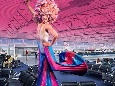 Flying Through NYC? Get Ready for a Show