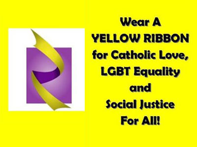 Yellow Ribbon Campaign Seeks Catholic Support for Gay Rights