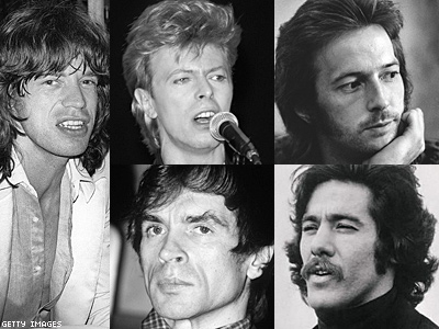 Mick Jagger: New Bio Claims He Hooked Up with Bowie, Nureyev...and Eric Clapton?