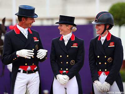 Gay Riders Medal Over Romney's Horse on Team USA