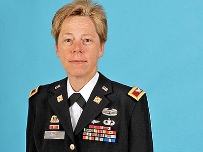 Tammy Smith Becomes First Lesbian General Officer