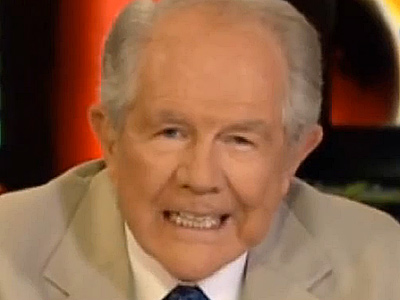 Pat Robertson Has a Strange Deal for Gay People