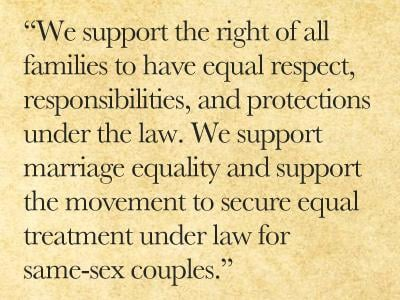 Democratic Platform Committee Unanimously Approves Marriage Language