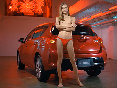 Gender-Variant Model Featured in Sexy Toyota Commercial