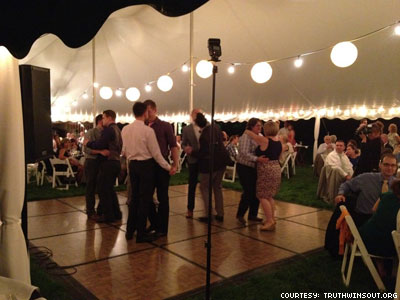 Newlyweds Give Same-Sex Couples First Dance at Wedding