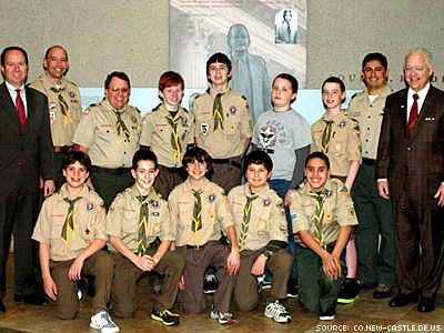 Church Drops Boy Scouts Troop Over Gay Ban
