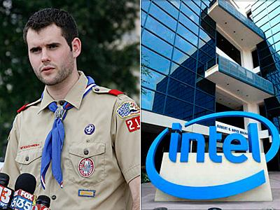 Intel Ends Donations to Boy Scouts Because of Antigay Policy