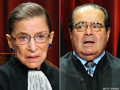 Scalia: Easy to Rule on Gay Rights, Abortion