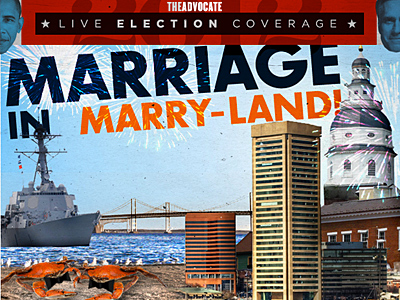 Maryland Officially Becomes Gay-Marry-Land