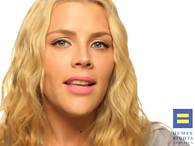 WATCH: Busy Philipps Joins Americans for Marriage Equality