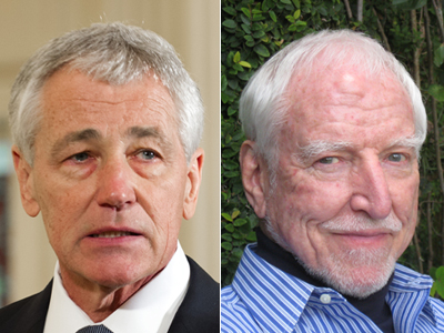 Op-ed: A Chuck Hagel for Our Time