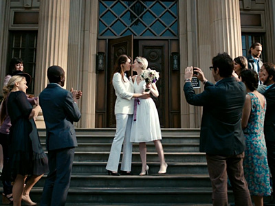 Microsoft Commercial Features Lesbian Wedding