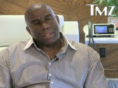 Magic Johnson Asked His Son: Are You or Aren't You?