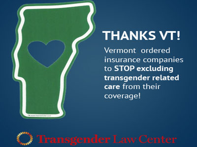 Vermont Orders Insurers to Cover Gender Reassignment