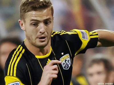 Gay Soccer Player Trains With L.A. Galaxy