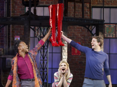 Kick Up Your Heels With Kinky Boots