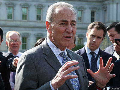 Schumer Admits Reason He Left Gays Out of Immigration 'Provides Little Comfort'
