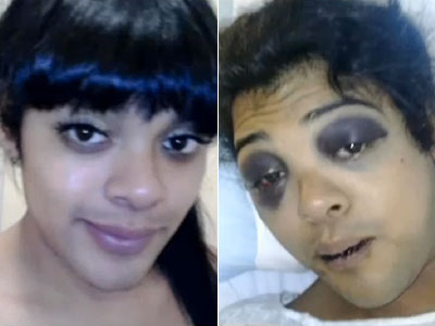 WATCH: Gender-Nonconforming Person Attacked in Hollywood Hate Crime