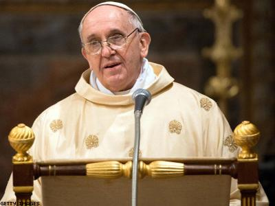 Pope Francis Admits 'Gay Lobby' at Work in Vatican