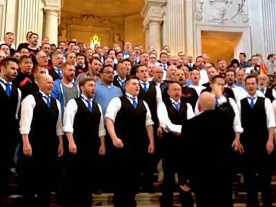 WATCH: San Francisco Gay Men's Chorus Celebrates Prop. 8's Death With Lesbian Couple Who Killed It