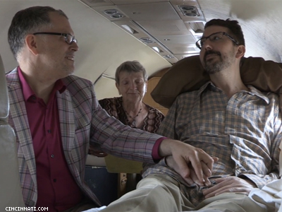 WATCH: Terminally Ill Ohio Gay Man and Partner Fly to Maryland to Marry