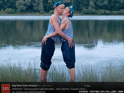 Gay Russian Teen Uses Twitter to Fight Homophobia