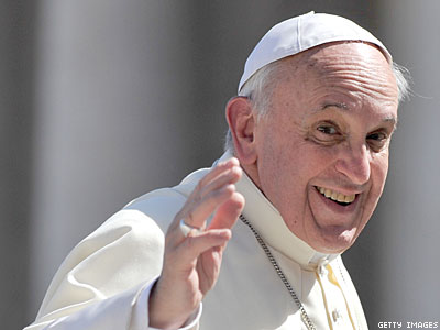 Pope Francis: Church Shouldn't 'Interfere Spiritually' With LGBT Lives