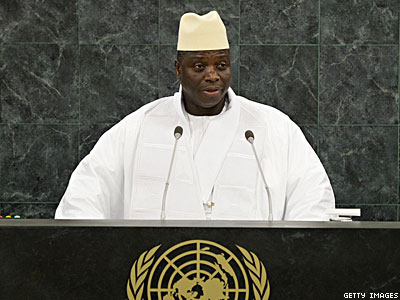 Gambia President Calls Gays One of the 'Biggest Threats to Human Existence'