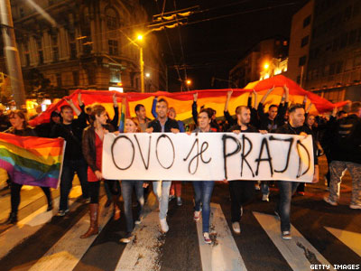 Op-ed: The Night Belgrade's Gays Demanded Equality