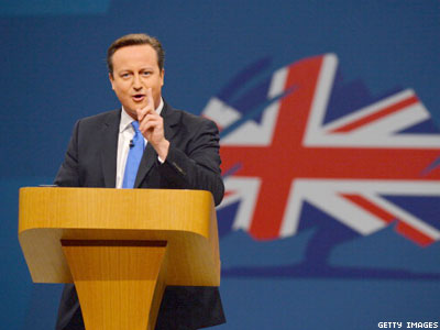 David Cameron Includes LGBT Equality in Tory Conference Speech