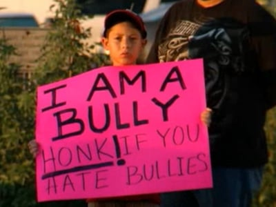 WATCH: Texas Dad Publicly Shames Son for Bullying Classmate