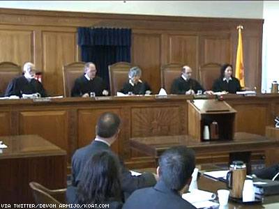 Watch As New Mexico Supreme Court Considers Marriage Equality