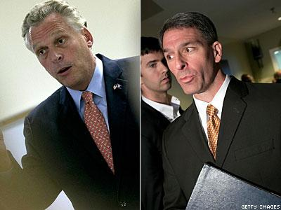 McAuliffe, Christie Win Governors' Races