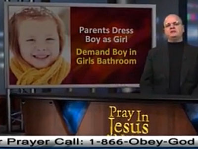 WATCH: Navy Chaplain Claims 'Demon of Rape' Inside Call for Trans Student Rights