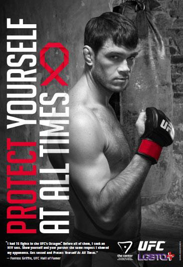 This Time, UFC Legend Forrest Griffin Fights Homophobia and HIV