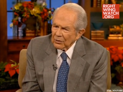 WATCH: Pat Robertson Says Pray for Gays 'Recruited' By Child Abuse